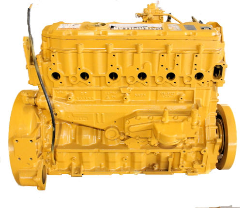 CAT 3126E Long Block Engine