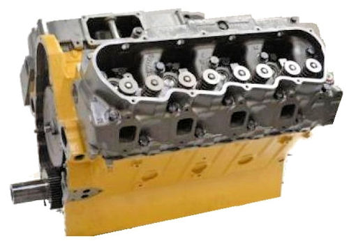 Caterpillar 3208 Long Block Engine For Crown Coach Reman