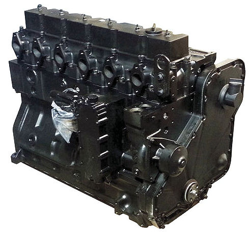 ISX 15 Cummins Long Block Engine - Reman