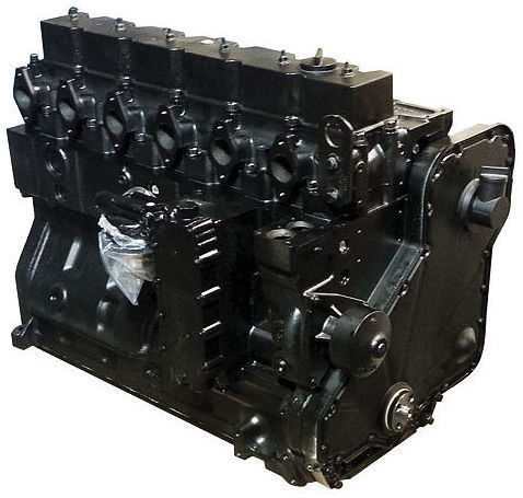 6BT Cummins Reman Long Block Engine For Ontario Bus