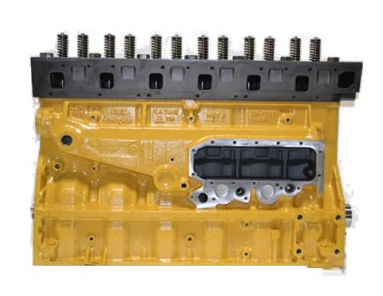 CAT 3116 Long Block Engine For GMC Vin Code J Reman