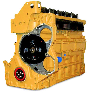 C7 Caterpillar Reman Long Block Engine For Spartan Motors Caterpillar
