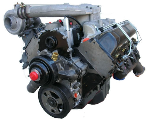 Gm 6.5l 1994 To 1996 Turbo Complete Drop In Reman Engine