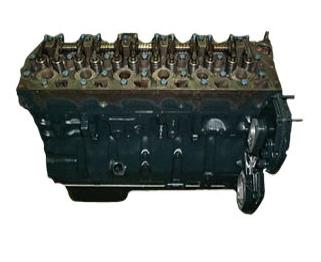 International DTI466C Long Block Engine