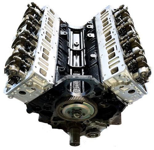 GMC Duramax LB7 DIESEL 6.6L Reman Long Block Engine Vin Code 1