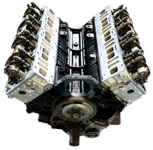 2007 GMC C5500 Topkick Duramax LLY DIESEL 6.6L Long Block Engine
