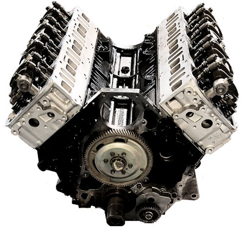 GMC Duramax LBZ DIESEL 6.6L Reman Long Block Engine Vin Code D