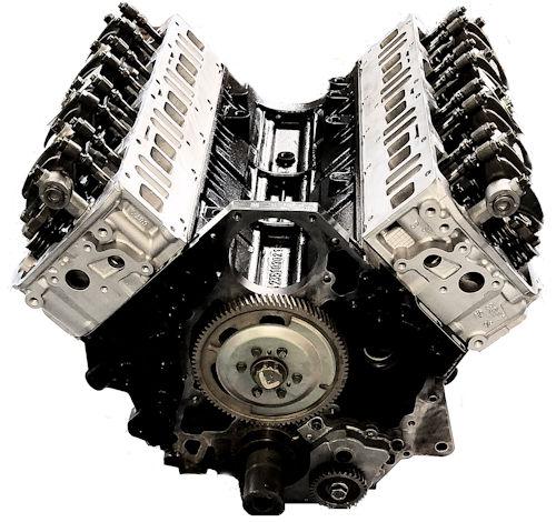 Chevrolet Duramax LMM DIESEL 6.6L Reman Long Block Engine Vin Code 6