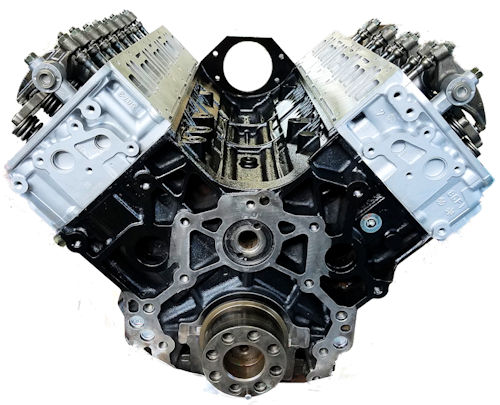 2007 Chevrolet C5500 Kodiak Duramax LLY DIESEL 6.6L Long Block Engine