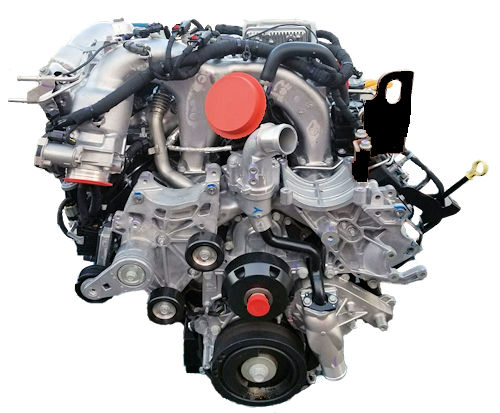Reman GM Duramax Diesel 6.6 LB7 Complete Drop-In Engine
