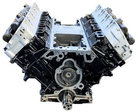 6.0L Ford E Series Long Block Diesel Engine