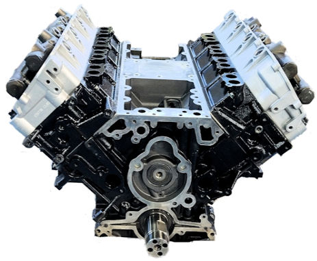 6.0L Ford Long Block Engine Vin Code P