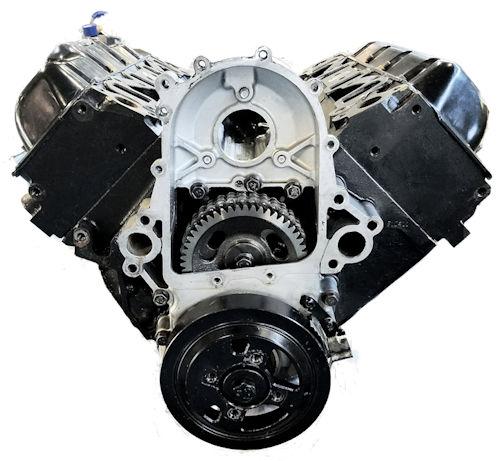 Reman GM 6.5L Long Block Motor Engine Chevrolet K2500 Suburban vin F