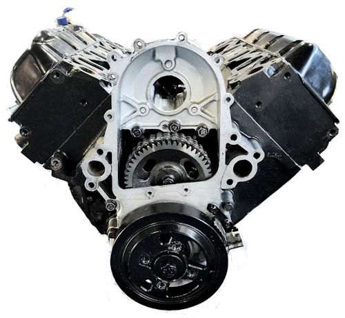 GM 6.5 Reman Long Block Engine Chevrolet C2500 vin F