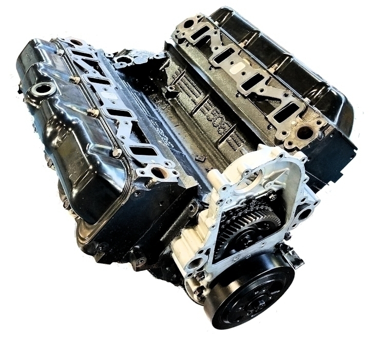 AM General 6.2L Reman Long Block Engine