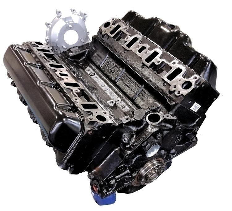 6.2 Chevy Reman Long Block Engine