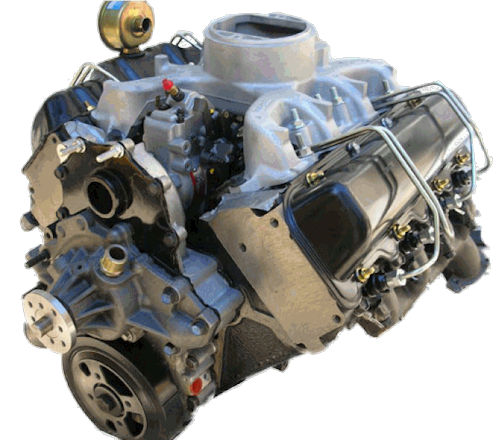 (GM) 6.5L GMC Savana 2500 395 CID Reman Complete Non Turbo Engine