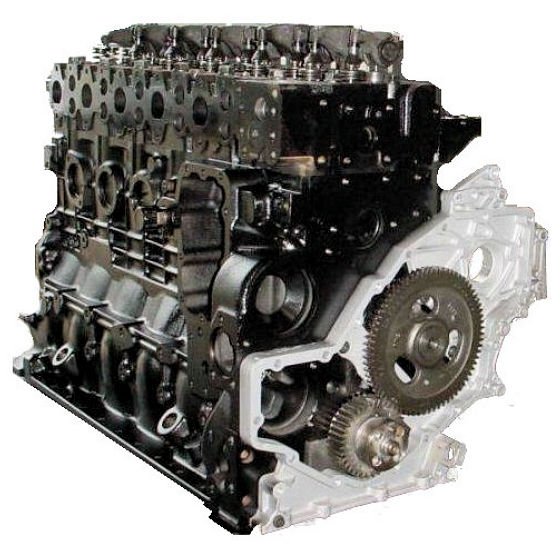 ISB 5.9L Cummins Reman Long Block Engine For Freightliner
