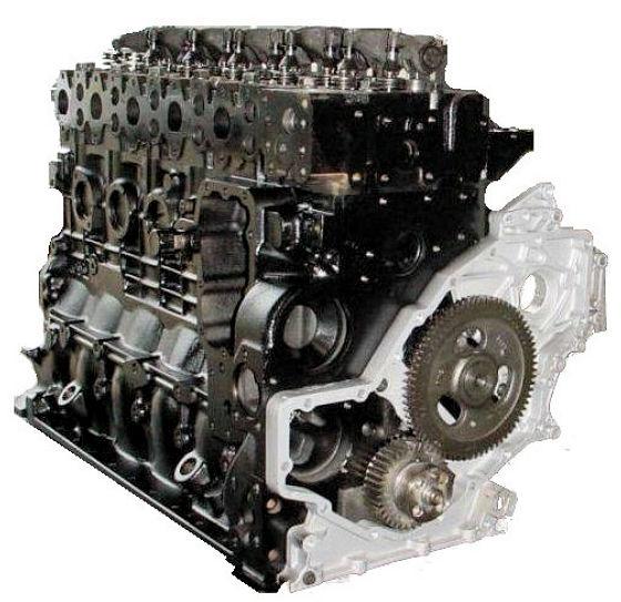 ISB 5.9 Cummins Reman Long Block Engine For Freightliner