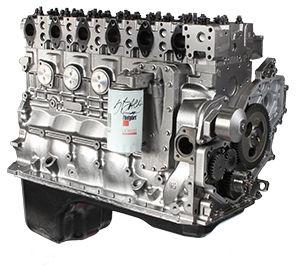 L10 Cummins Long Block Engine For White/GMC - Reman