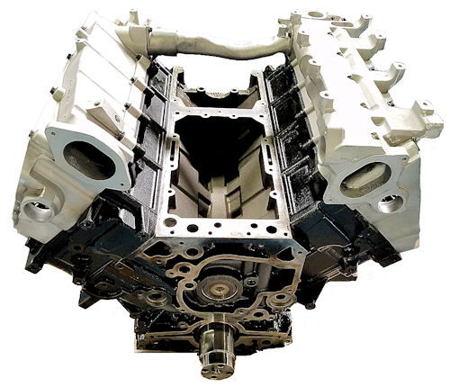 Mercedes Benz MBE906 Long Block Engine