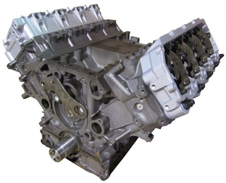 4.5L Ford LCF 2006-2010 Remanufactured Long Block Engine