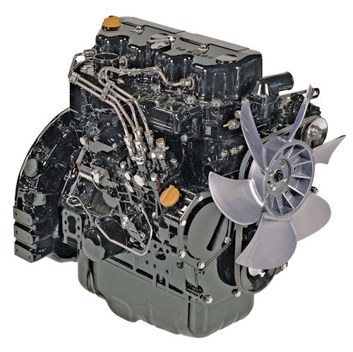 Yanmar 3TNV70-AJUV Reman Long Block Engine